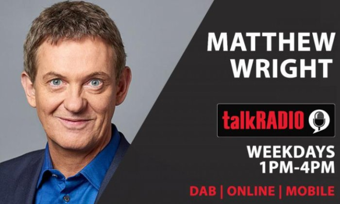 image showing Mathew Right with details of his radio show