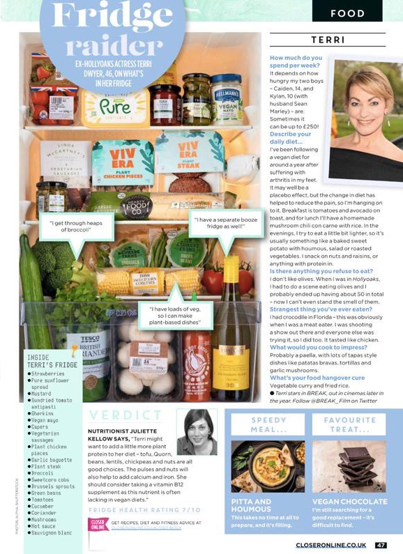 Closer Magazine  – Fridge Raider